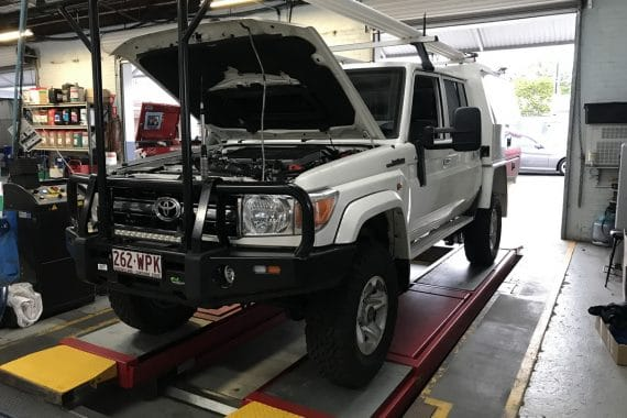 Land Cruiser 79 series dual and triple battery system