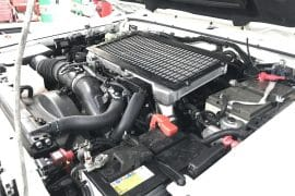 Land Cruiser 79 series dual battery