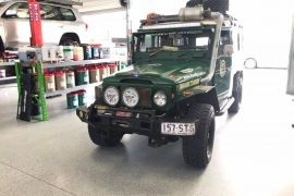 Roothy Milo one Dustemup Landcruiser 40 series