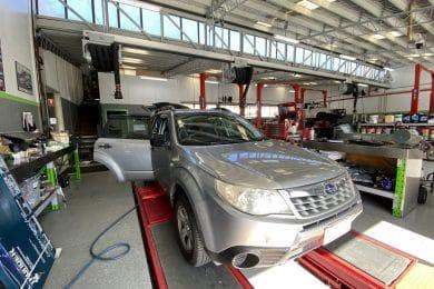 SUBARU FORESTER Fuel Smell Inside the Car